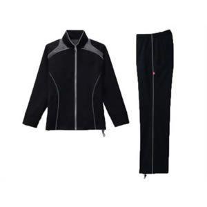 30up DIET シェイプスーツキューブ男性用(長袖上下) ブラック*グレー M 代引不可