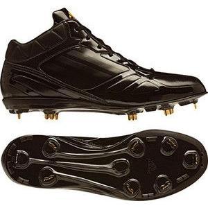 adidas(アディダス) G56053 アディゼロ フィックスメタル MID ブラック×ブラック×メタリックゴールド 265