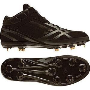 adidas(アディダス) G56088 アディゼロ フィックスメタル フラッグシップMID ブラック×ブラック×メタリックゴールド 260