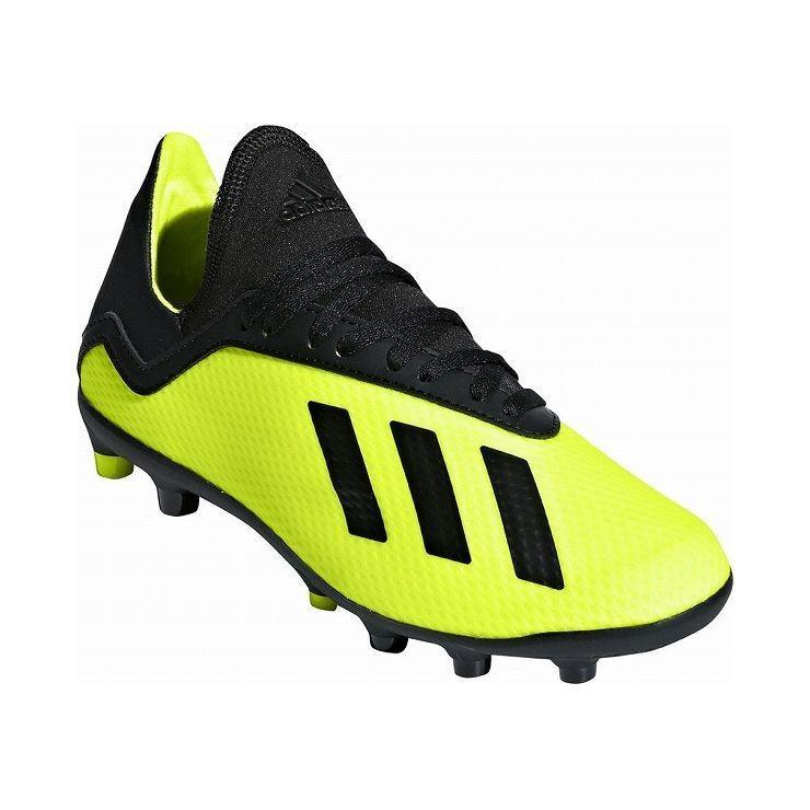 アディダス フットボールシューズ 18.5cm adidas エックス 18.3-ジャパン HG J スパイク サッカー 土用 人工芝用 BB6971