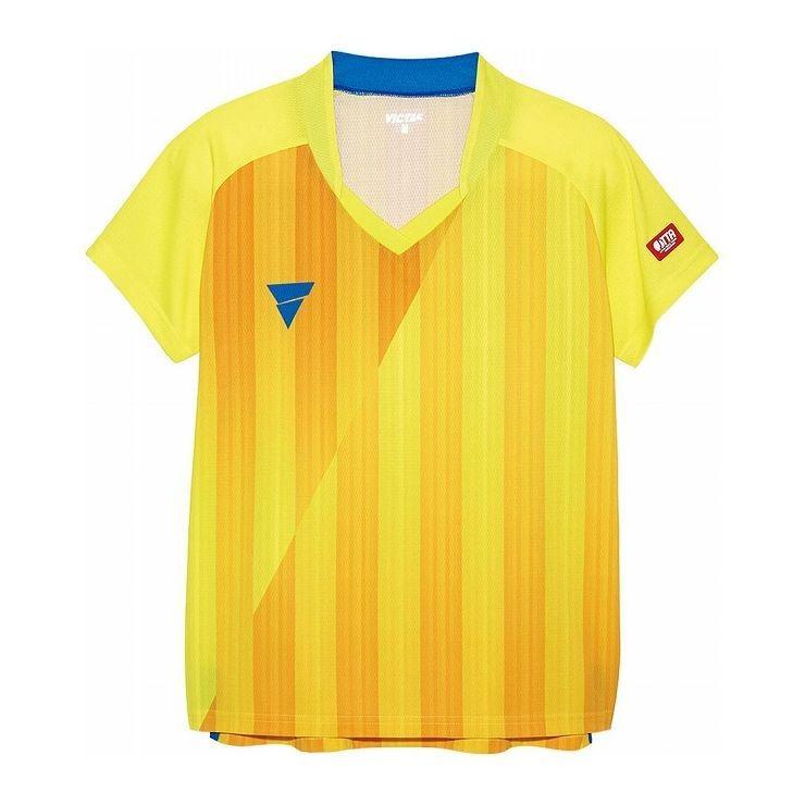 VICTAS ヴィクタス VICTAS V‐LS054 レディース ゲームシャツ 31468 カラー イエロー サイズ S