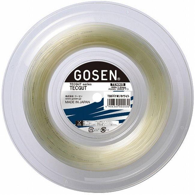 大量入荷 GOSEN ゴーセン テックガット16 120Mロール ゴーセン TS6001W TS6001W, コーミングアース:7bc64d9b --- airmodconsu.dominiotemporario.com