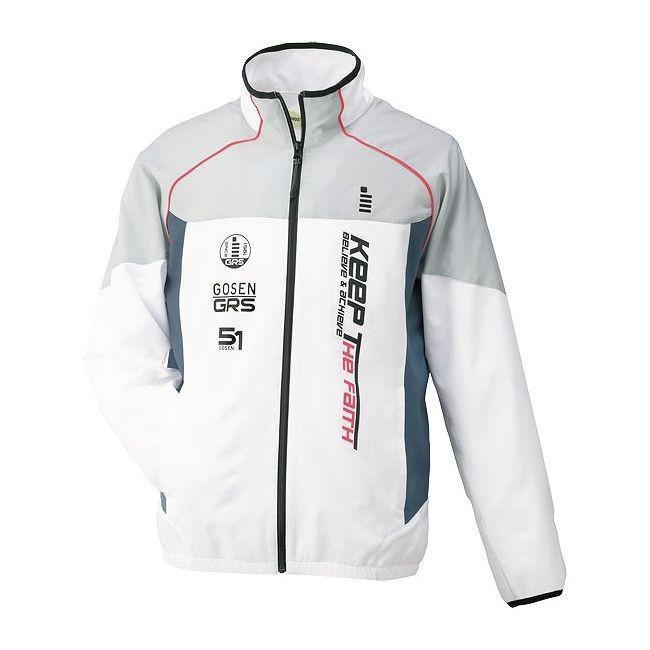 GOSEN ゴーセン UY1400 ライトウィンドジャケット UY1400 カラー ホワイト サイズ L