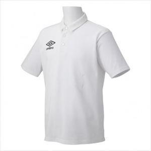 アンブロ umbro サッカー S/S ポロシャツ UBS7200 WHT