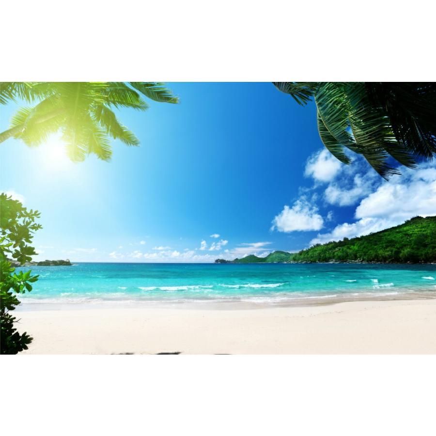 絵画風 壁紙ポスター トロピカル ビーチ バリ島 インドネシア 海