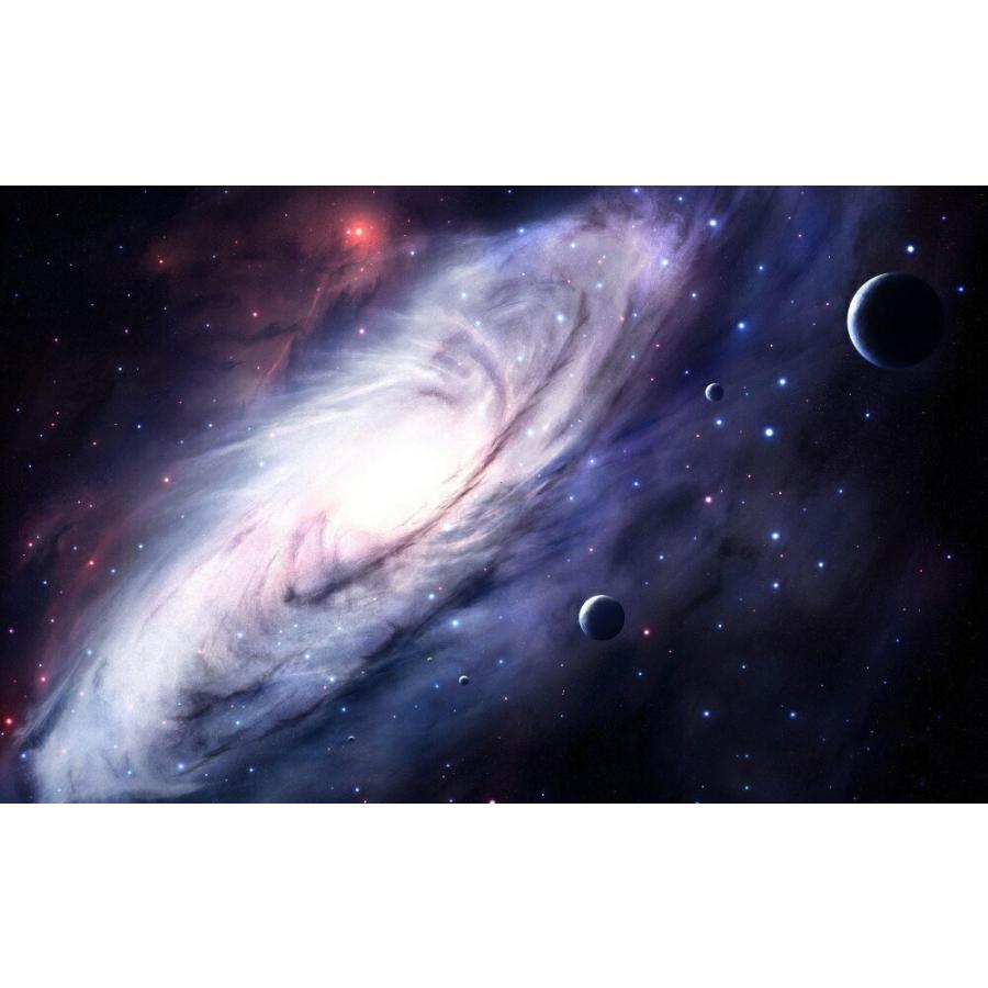 絵画風 壁紙ポスター 銀河 ギャラクシー 宇宙 惑星 天体 神秘 癒し パワー キャラクロ Spc 004w2 ワイド版 603mm 376mm Spc 004w2 レアルインターショップ 通販 Yahoo ショッピング