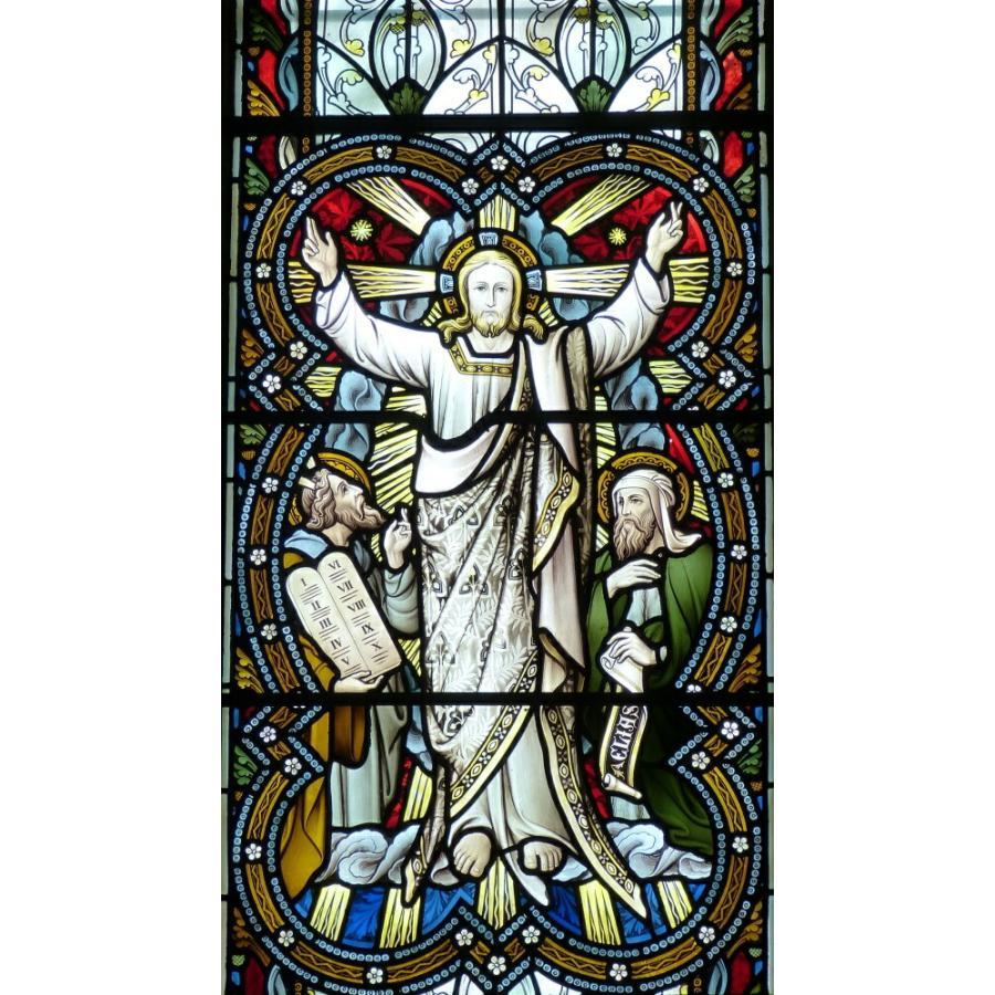 絵画風 壁紙ポスター ステンドグラス 教会の窓 教会堂 西洋館 装飾 キリスト教 キャラクロ Wsdg 010s1 576mm 1036mm Wsdg 010s1 レアルインターショップ 通販 Yahoo ショッピング