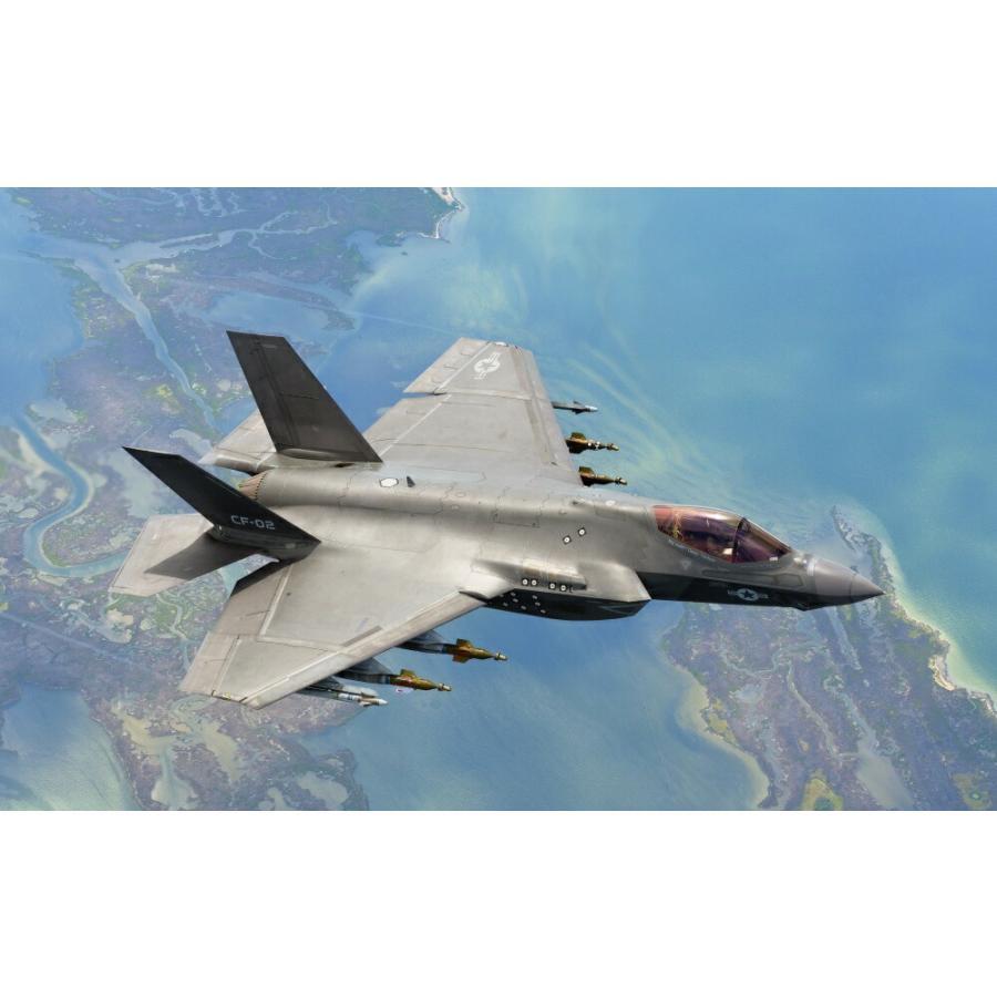 絵画風 壁紙ポスター ステルス戦闘機 F 35c ライトニング2 艦載型 Usaf