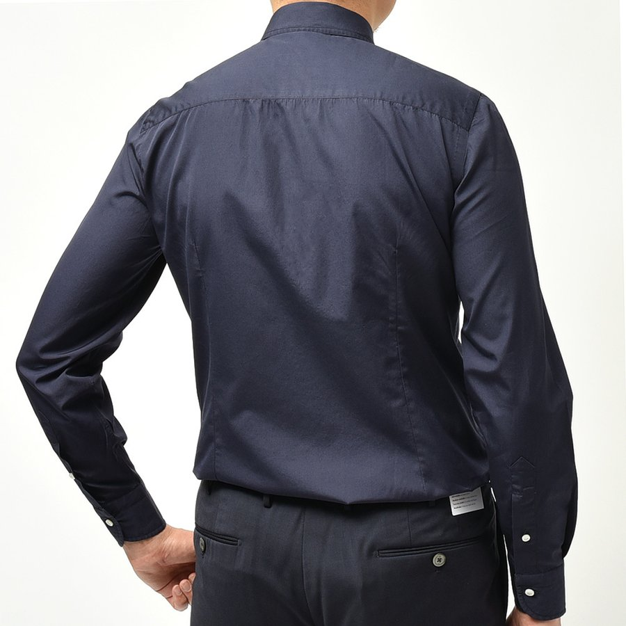 STILE LATINO スティレ ラティーノ コットン ブロード セミワイドカラー ドレスシャツ|realclothing|03