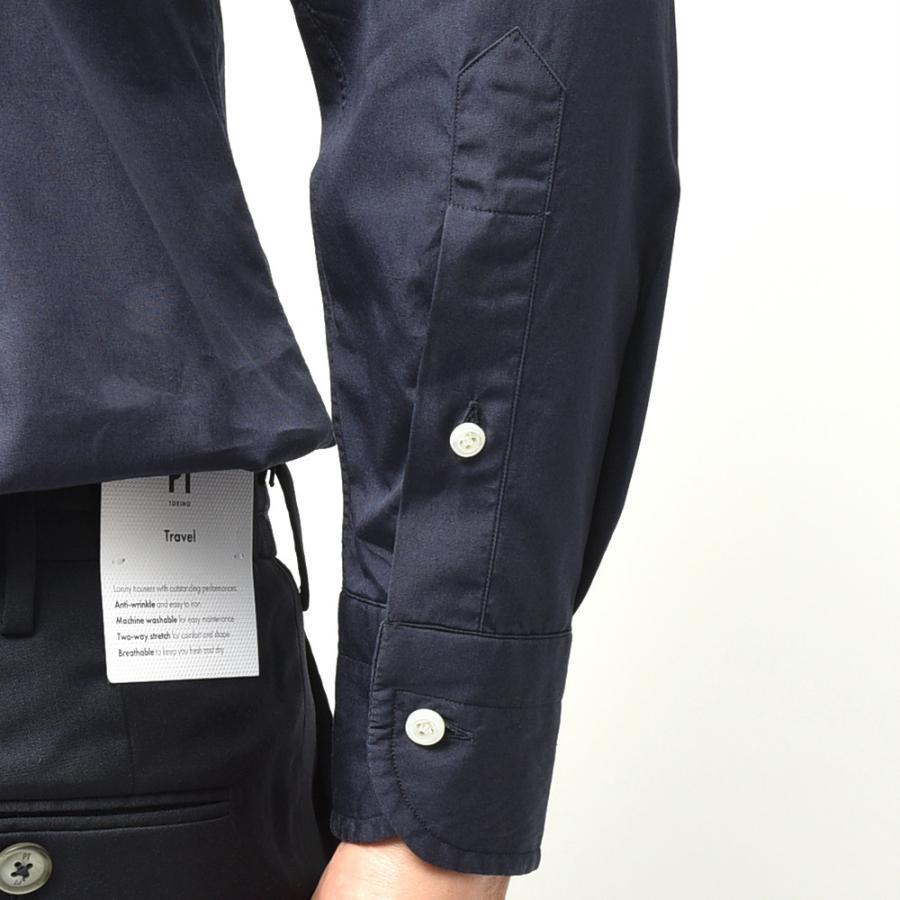 STILE LATINO スティレ ラティーノ コットン ブロード セミワイドカラー ドレスシャツ|realclothing|06