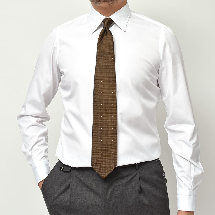 STILE LATINO スティレ ラティーノ コットン ブロード セミワイドカラー ドレスシャツ|realclothing|08
