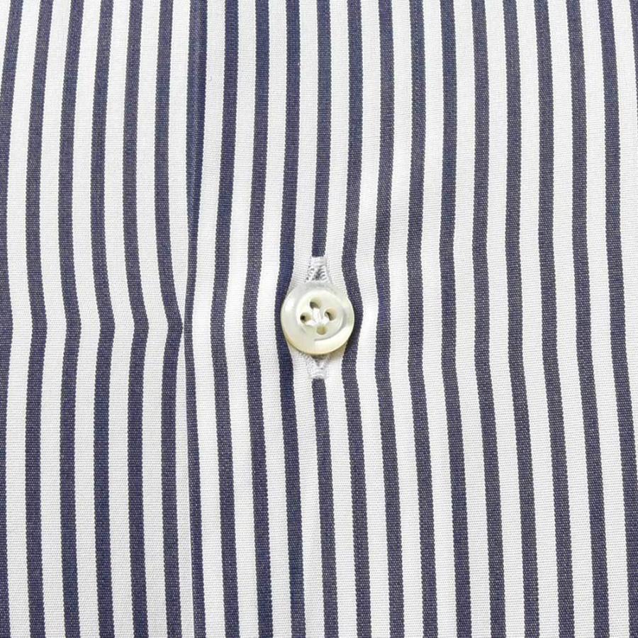 STILE LATINO スティレ ラティーノ コットン ブロード ストライプ セミワイドカラー ドレスシャツ|realclothing|07