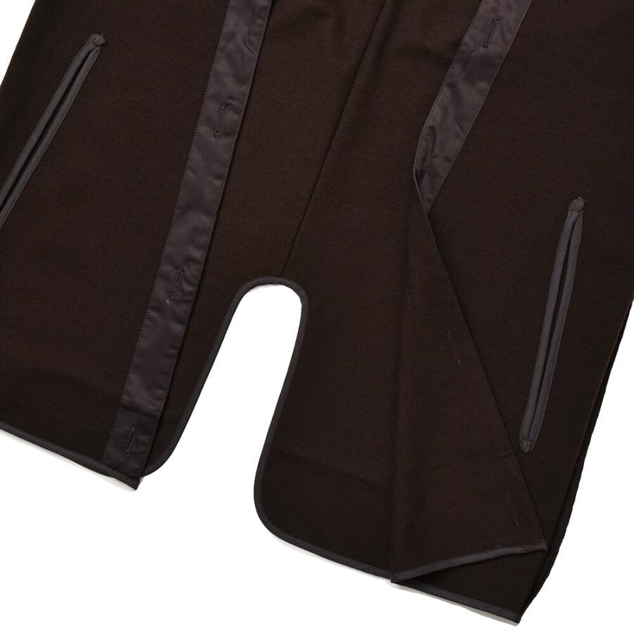 COHERENCE コヒーレンス ウール ナイロン ブランケットジャージー ライナー ベスト|realclothing|03