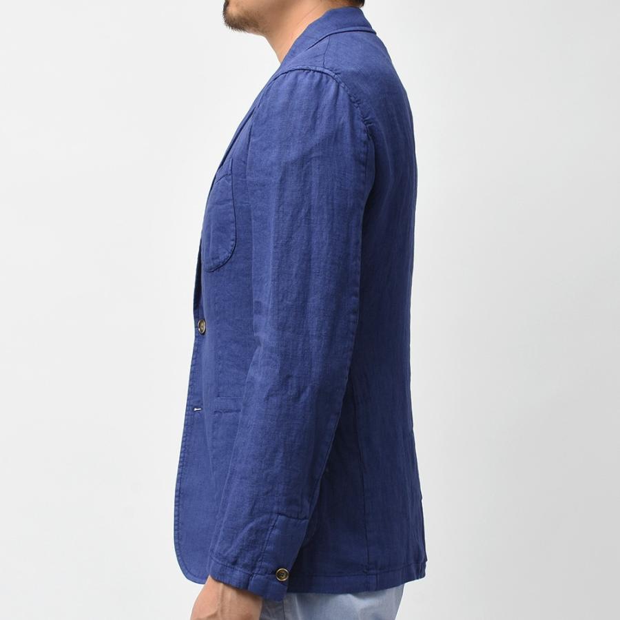 Matteucci マテウッチ MONZA リネン ソリッド シングル2Bシャツジャケット realclothing 05