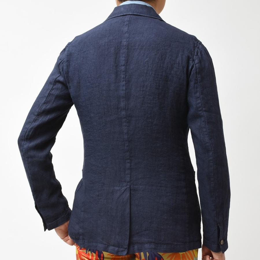 Matteucci マテウッチ MONZA リネン ソリッド シングル2Bシャツジャケット realclothing 10