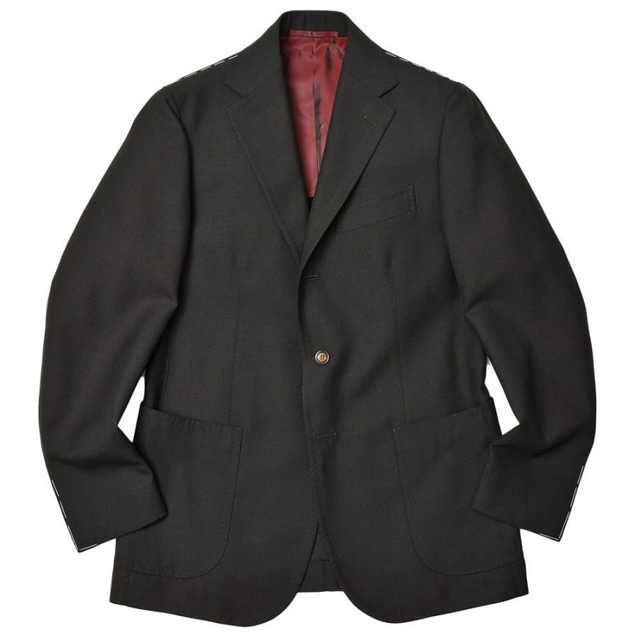 STILE LATINO スティレ ラティーノ ウール ホップサック シングル3Bジャケット VINCENZO realclothing