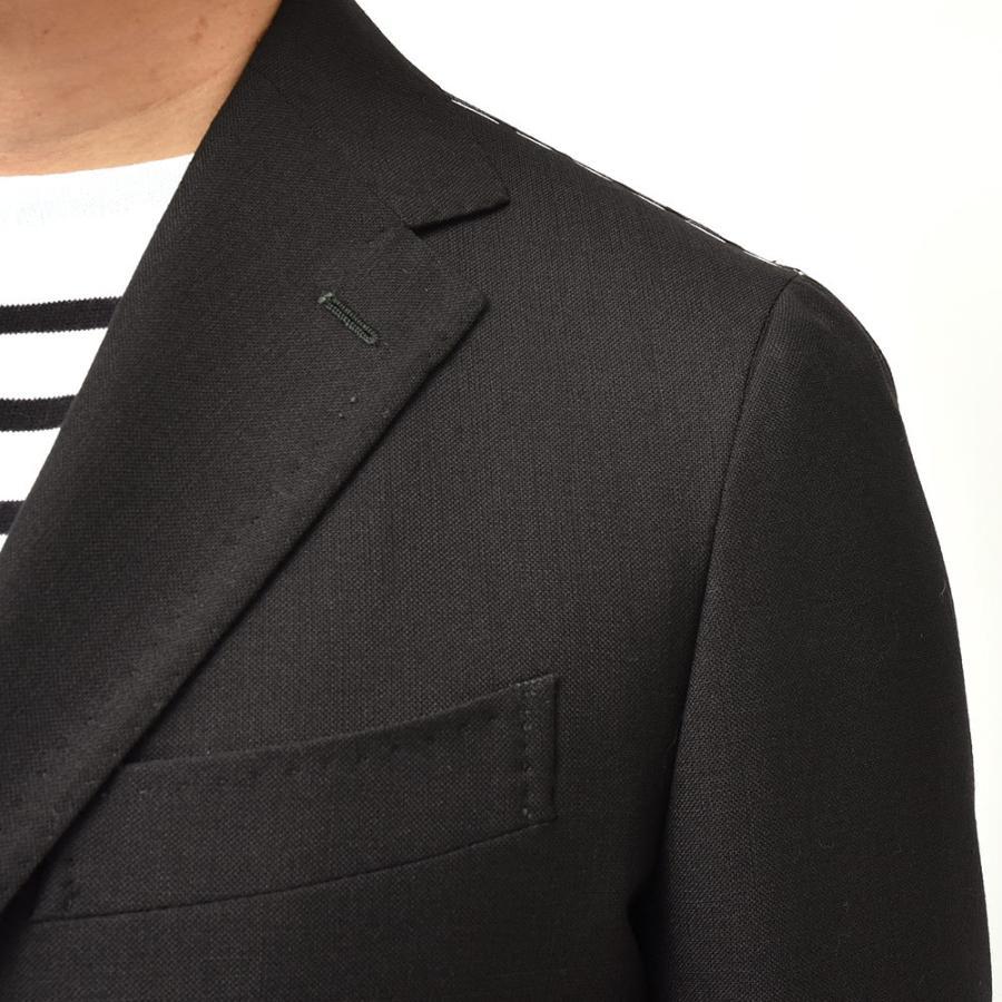 STILE LATINO スティレ ラティーノ ウール ホップサック シングル3Bジャケット VINCENZO|realclothing|07