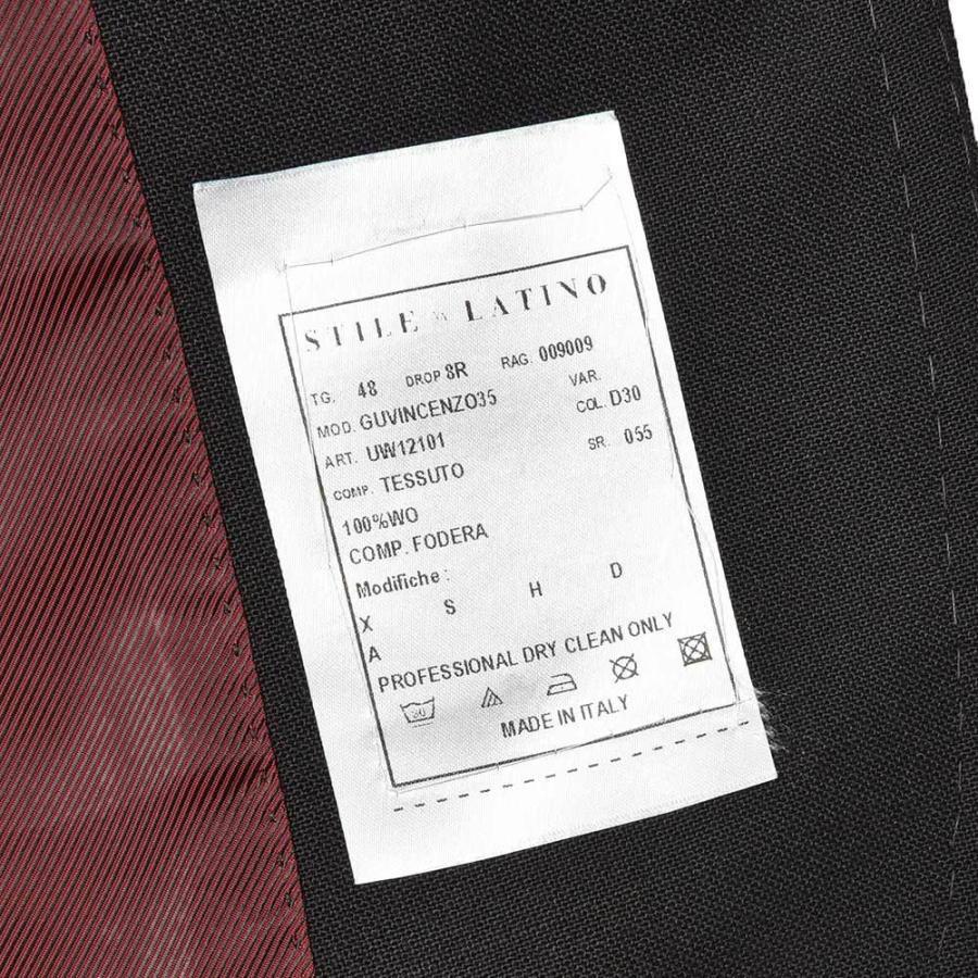 STILE LATINO スティレ ラティーノ ウール ホップサック シングル3Bジャケット VINCENZO realclothing 10