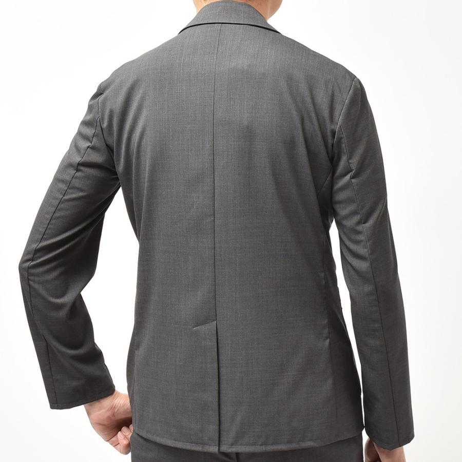giab's ARCHIVIO ジャブスアルキヴィオ STROZZI ニューテクノウール ストレッチ セットアップ対応 シングル2Bジャケット realclothing 04