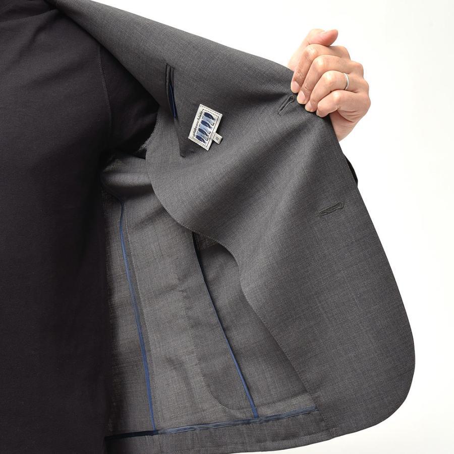giab's ARCHIVIO ジャブスアルキヴィオ STROZZI ニューテクノウール ストレッチ セットアップ対応 シングル2Bジャケット realclothing 06