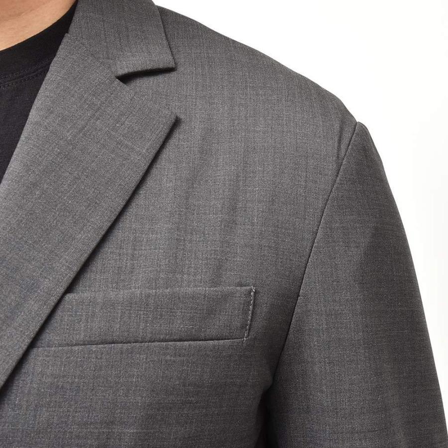 giab's ARCHIVIO ジャブスアルキヴィオ STROZZI ニューテクノウール ストレッチ セットアップ対応 シングル2Bジャケット realclothing 07