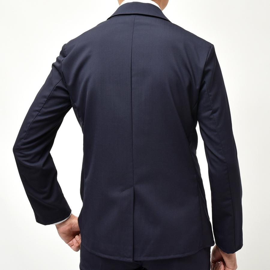 giab's ARCHIVIO ジャブスアルキヴィオ STROZZI ニューテクノウール ストレッチ セットアップ対応 シングル2Bジャケット realclothing 10