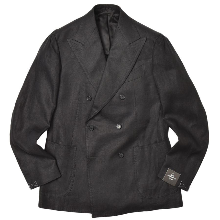 TITO ALLEGRETTO ティト アレグレット リネン ツイル ダブル6Bジャケット realclothing