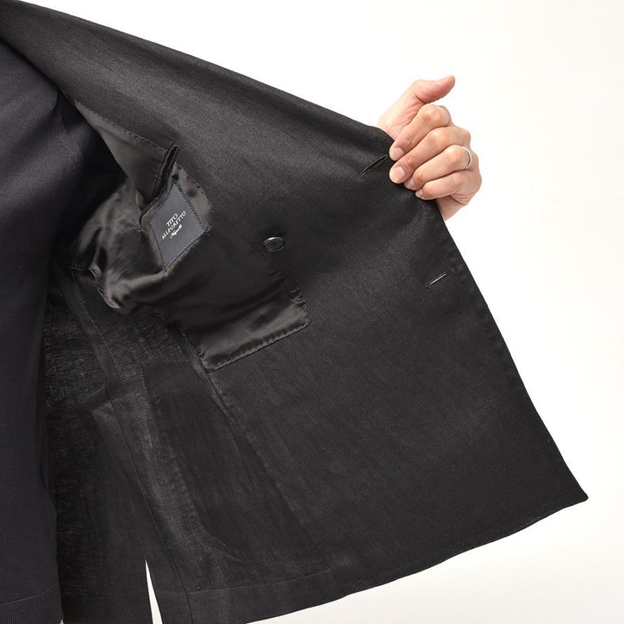 TITO ALLEGRETTO ティト アレグレット リネン ツイル ダブル6Bジャケット realclothing 06