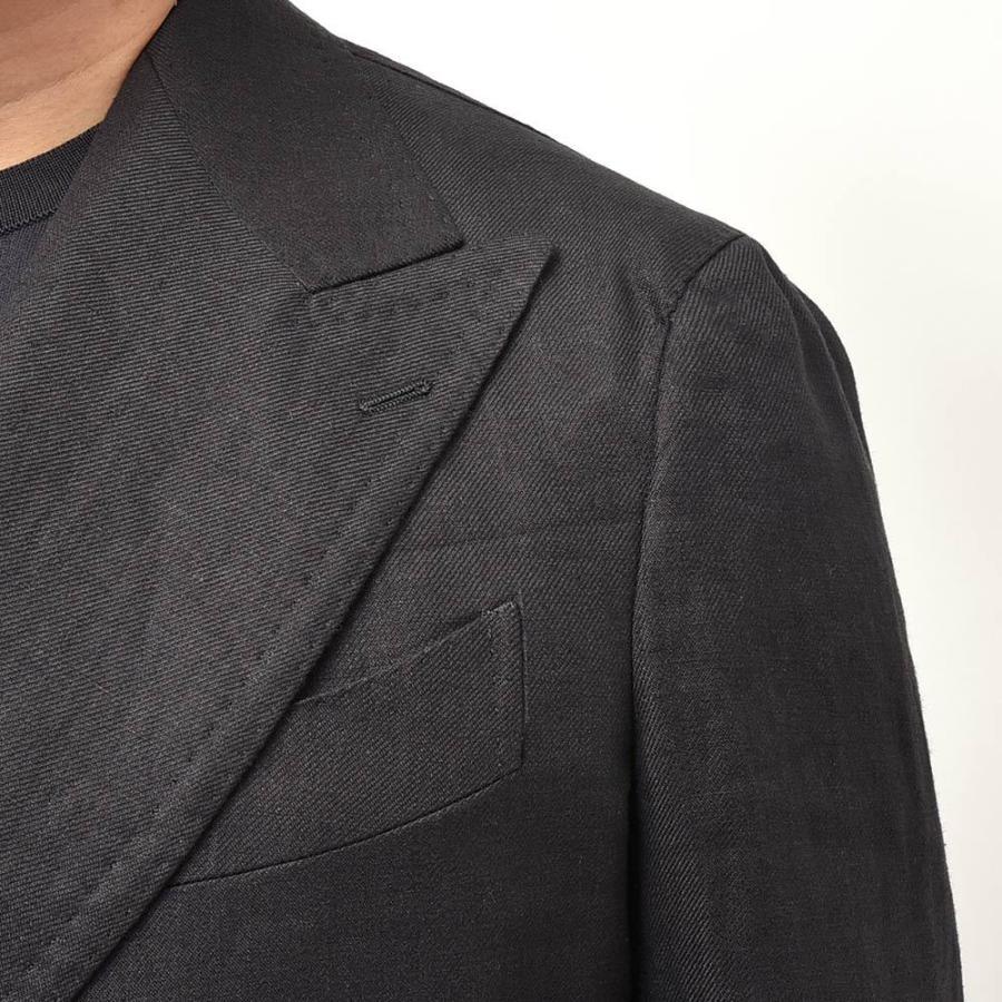TITO ALLEGRETTO ティト アレグレット リネン ツイル ダブル6Bジャケット realclothing 07