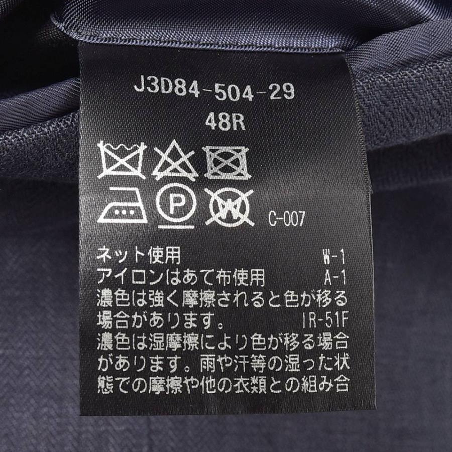 Paul Stuart ポールスチュアート リネン ヘリンボーン セットアップ対応 アンコン仕立て シングル2Bジャケット|realclothing|10
