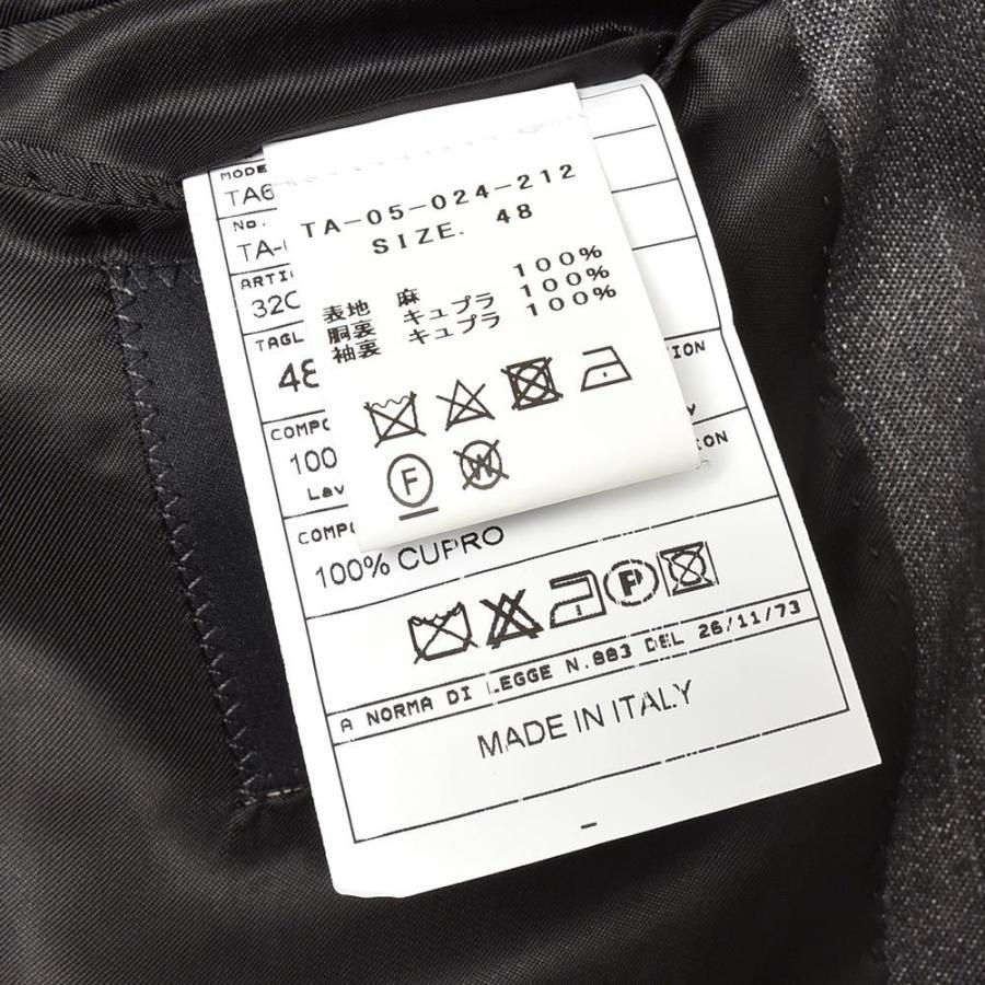 TITO ALLEGRETTO ティト アレグレット リネン ブラックデニム ダブル6Bジャケット|realclothing|10