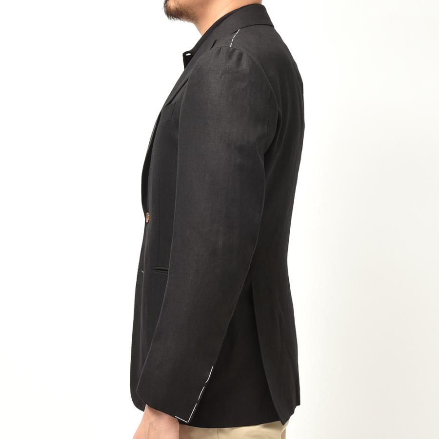 STILE LATINO スティレ ラティーノ リネン ピークドラペル シングル2Bジャケット LEO realclothing 05