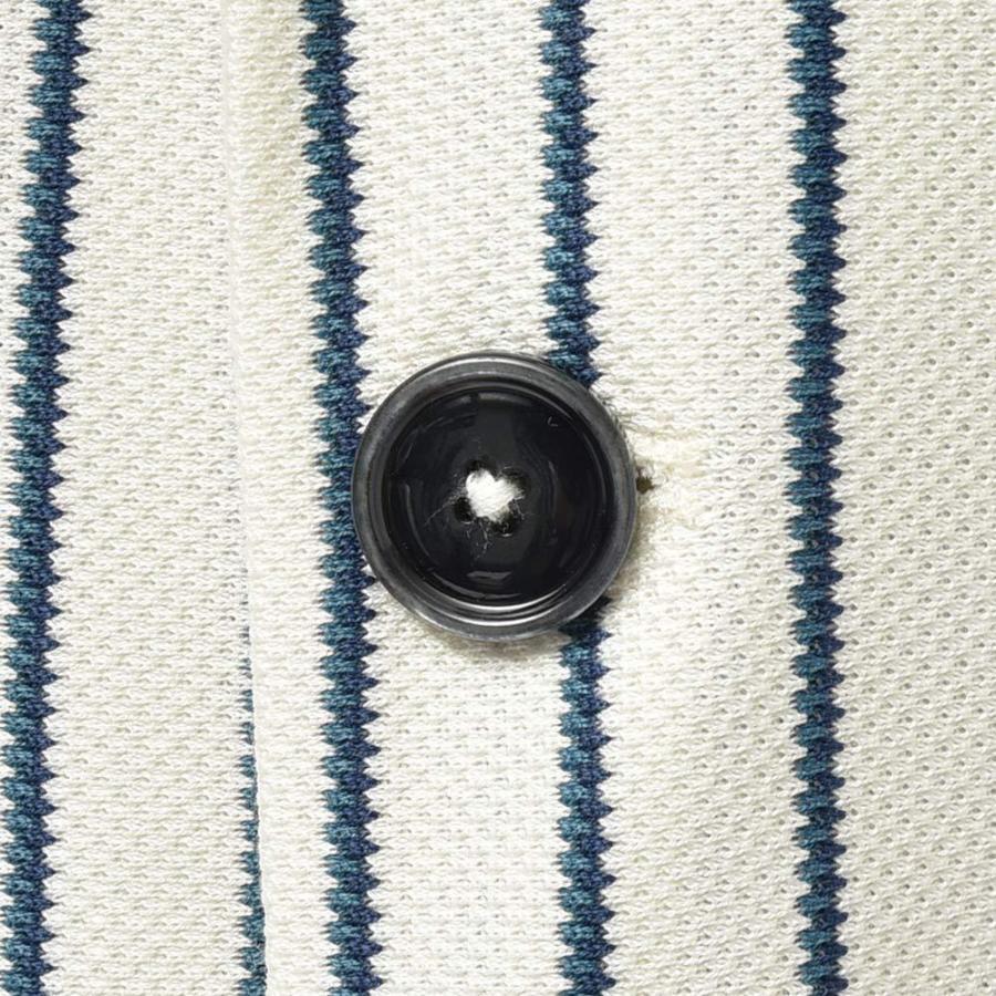 CIRCOLO 1901 チルコロ1901 コットン ジャージー ストライプ シングル2Bジャケット|realclothing|08