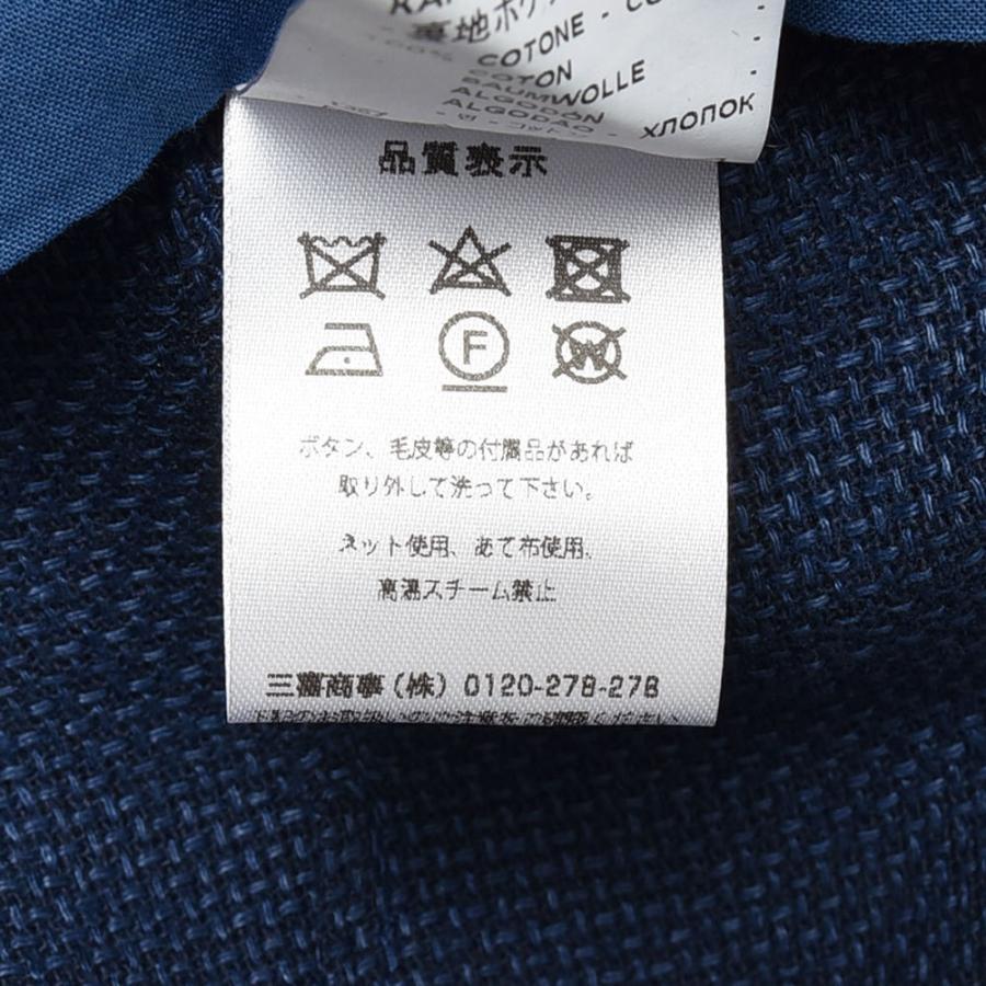 BARENA バレナ リネン コットン ポリエステル ホップサック シングル2Bジャケット|realclothing|10