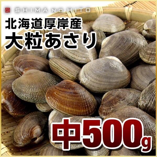 厚岸産 あさり 中サイズ500g