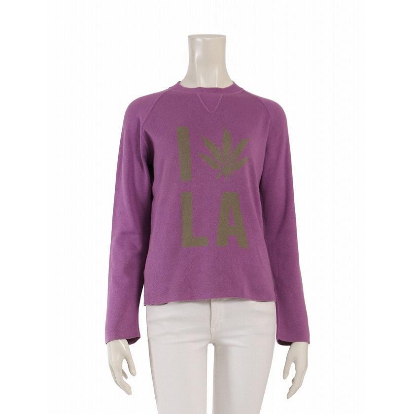 一番人気物 ルシアンペラフィネ lucien pellat-finet ニット コットン カシミヤ 紫 カーキ レディース, ロイヤルオーダーストア 40498bd1