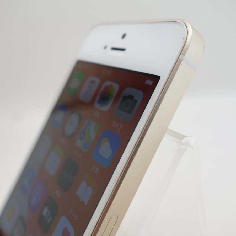 【SIMフリー】 iPhoneSE 16GB ゴールド MLXM2J/A #12971 reco 04