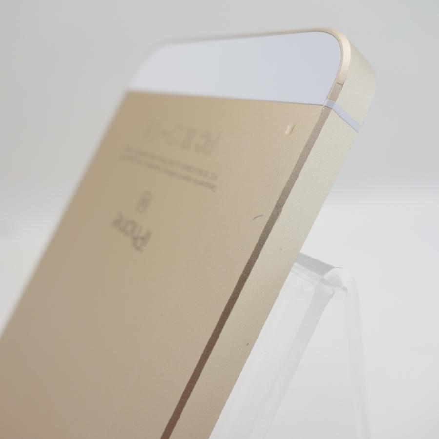 【SIMフリー】 iPhoneSE 16GB ゴールド MLXM2J/A #12971 reco 05