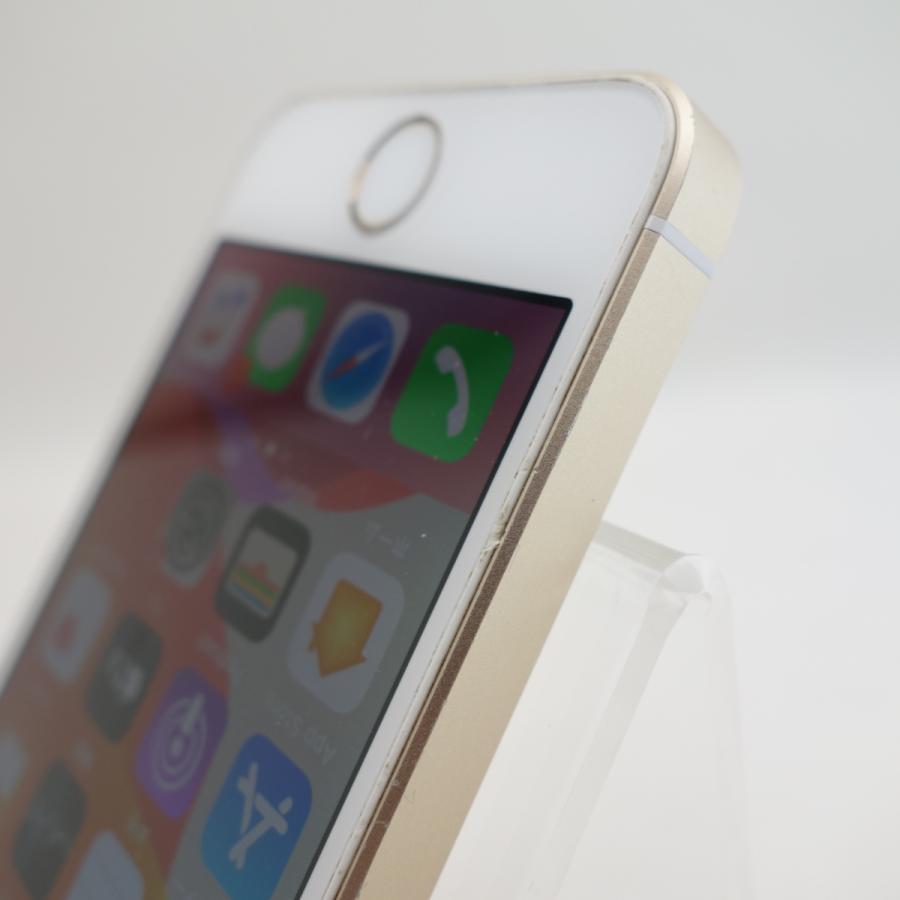 【SIMフリー】 iPhoneSE 16GB ゴールド MLXM2J/A #12971 reco 06