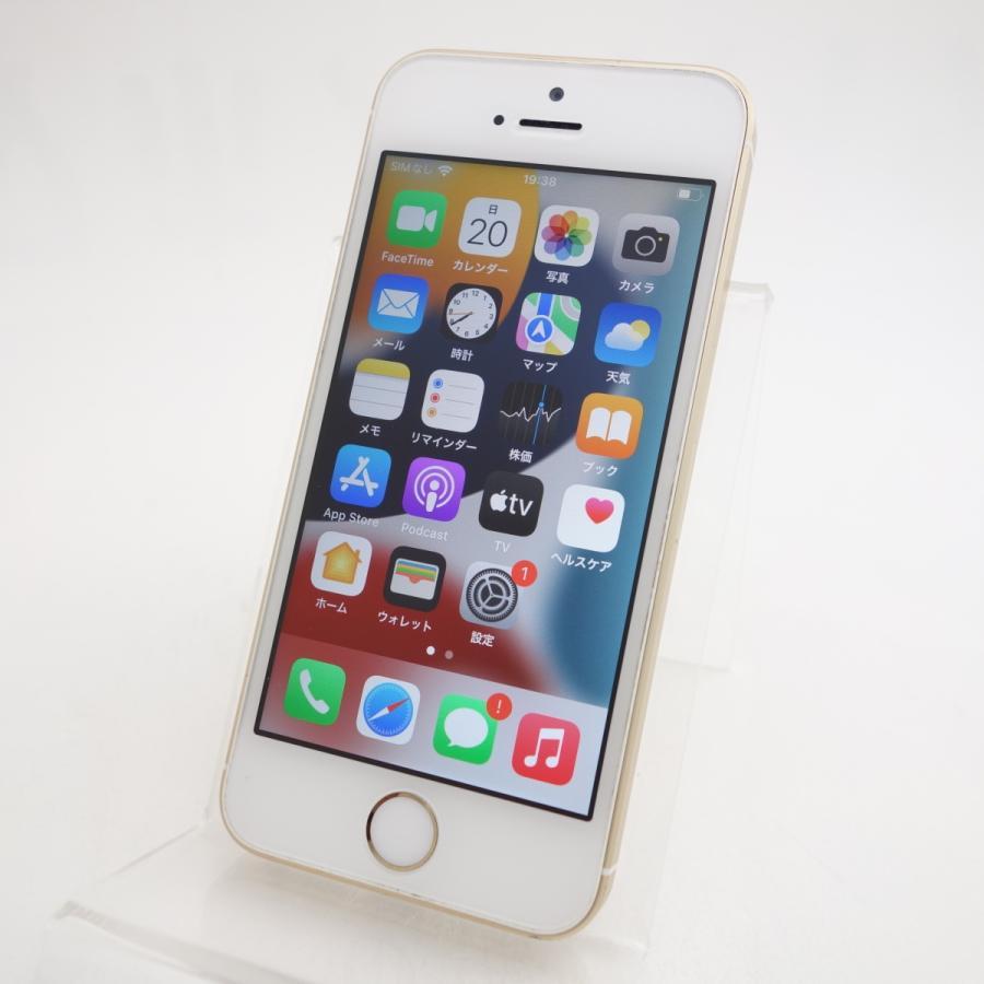 【SIMフリー】 iPhoneSE 16GB ゴールド MLXM2J/A #11884 reco
