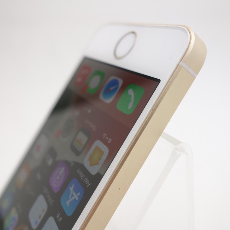 【SIMフリー】 iPhoneSE 16GB ゴールド MLXM2J/A #11884 reco 06