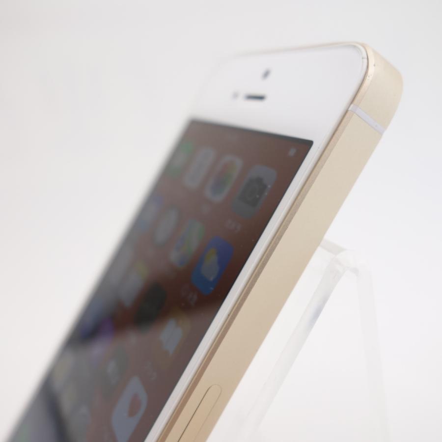 【SIMフリー】 iPhoneSE 32GB ゴールド MP842J/A #5347 reco 04