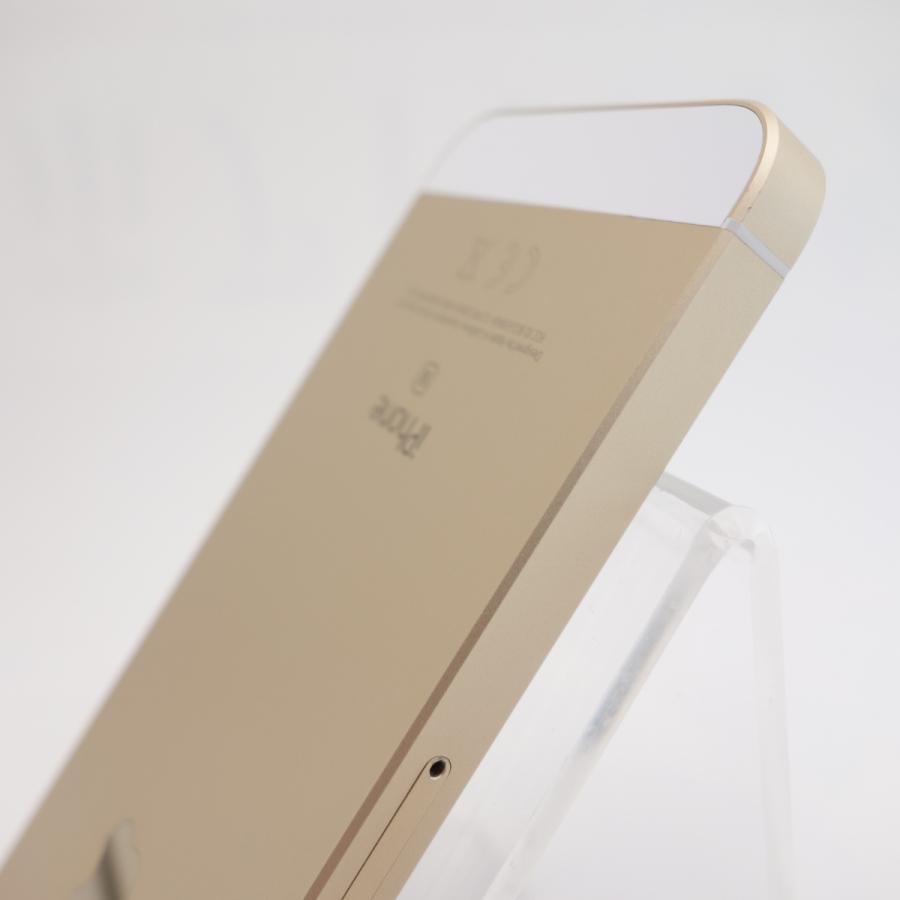 【SIMフリー】 iPhoneSE 32GB ゴールド MP842J/A #5347 reco 05