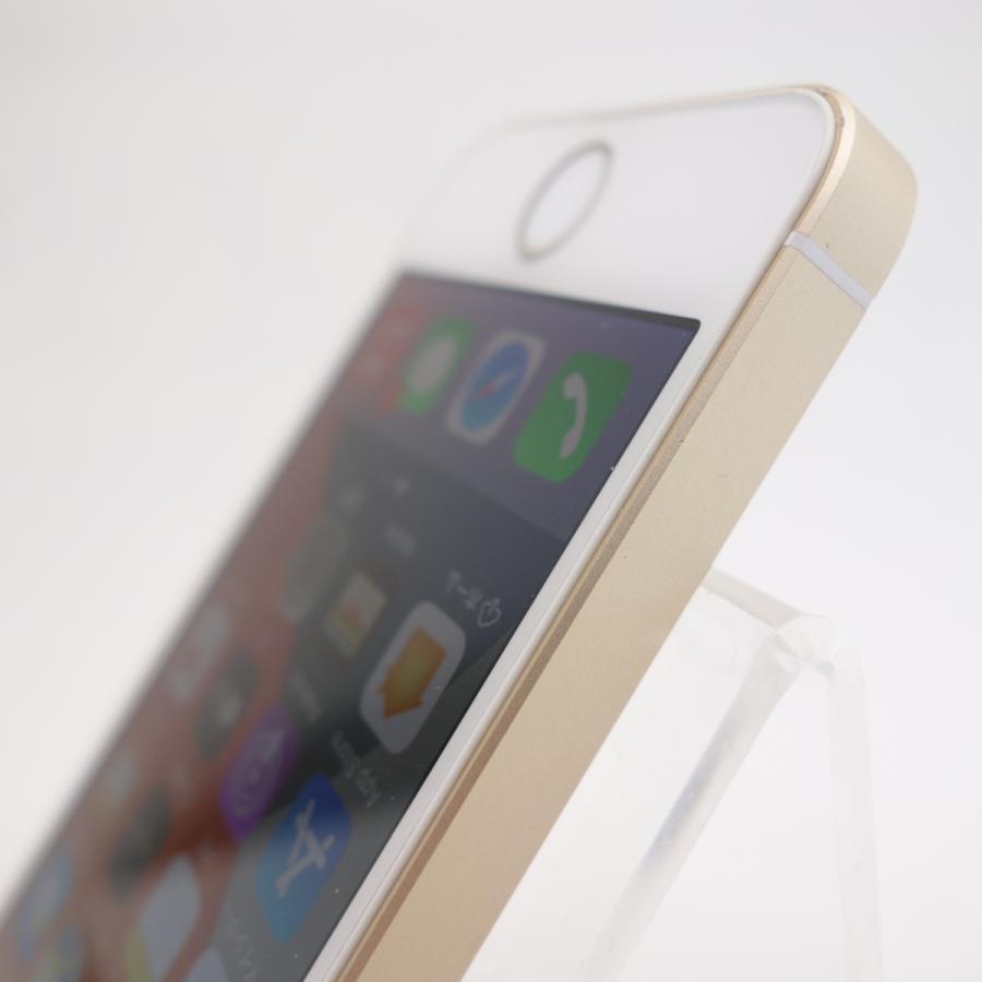 【SIMフリー】 iPhoneSE 32GB ゴールド MP842J/A #5347 reco 06