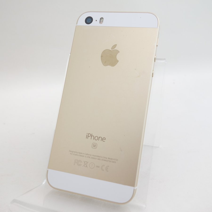 【SIMフリー】 iPhoneSE 64GB ゴールド MLXP2J/A #3880 reco 02