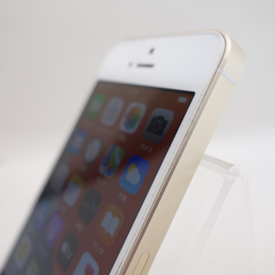 【SIMフリー】 iPhoneSE 64GB ゴールド MLXP2J/A #3880 reco 04