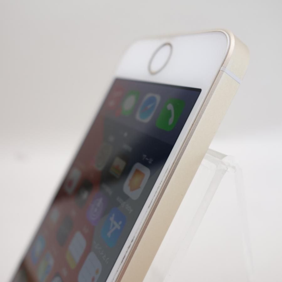 【SIMフリー】 iPhoneSE 64GB ゴールド MLXP2J/A #3880 reco 06