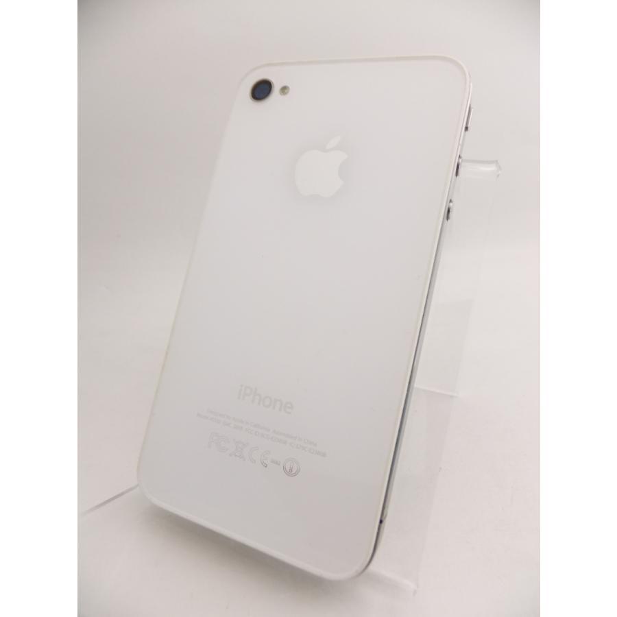 【ソフトバンクSIMロック】 iPhone4 16GB ホワイト MC604J/A #10559|reco|02
