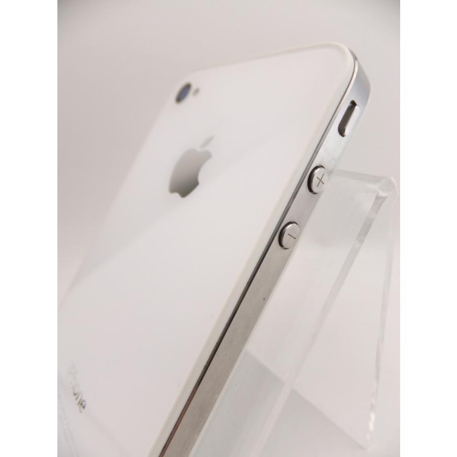 【ソフトバンクSIMロック】 iPhone4 16GB ホワイト MC604J/A #10559|reco|03