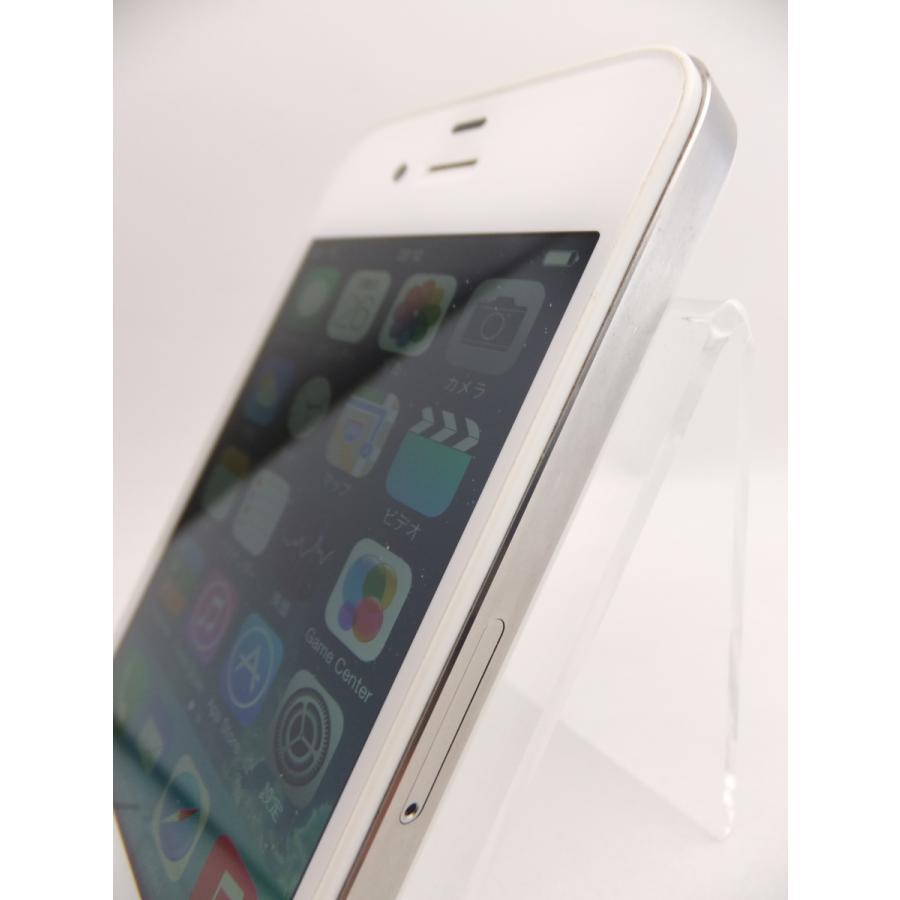 【ソフトバンクSIMロック】 iPhone4 16GB ホワイト MC604J/A #10559|reco|04